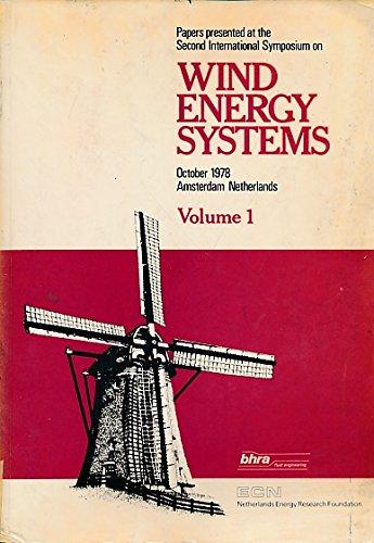 Proceedings of the Wind Energy Systems International Symposium, 2nd, Amsterdam, Netherlands, ...