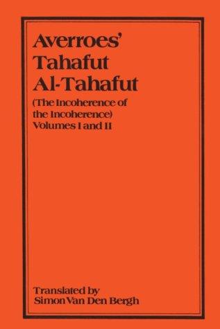 9780906094044: Averroes' Tahafut Al-Tahafut Vol 1&2 (Gibb Memorial Trust) (v. 1 & 2)