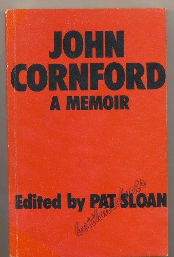 9780906135051: John Cornford: A Memoir