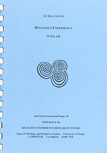 9780906165409: Religious Experience in Islam (2nd Series Occasional Papers)