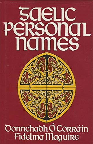 9780906187395: Gaelic Personal Names