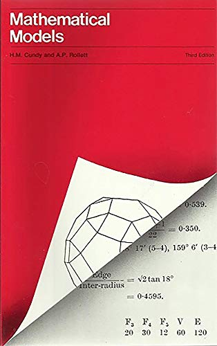 9780906212202: Mathematical Models