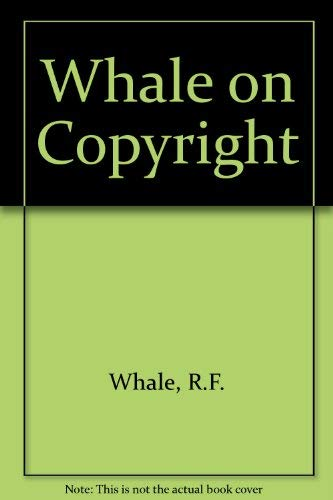 9780906214176: Whale on Copyright