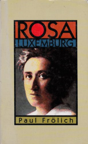 9780906224953: Rosa Luxemburg