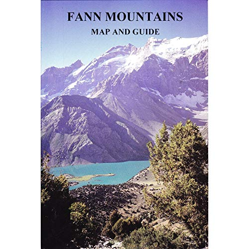 9780906227565: Fann Mountains, map and guide
