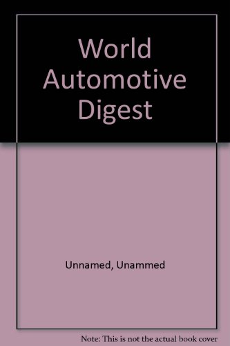 World Automotive Digest 1988: Unnamed, Unammed
