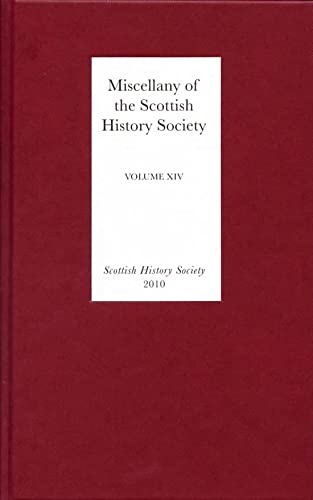 Miscellany of the Scottish History Society, volume: Various