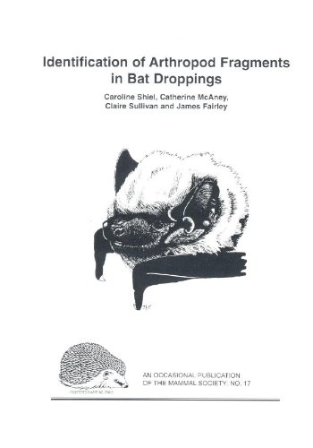 9780906282335: Identification of Arthropod Fragments in Bat Droppings (Mammal Society Occasional Publications)