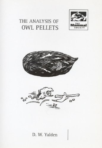 9780906282458: The Analysis of Owl Pellets