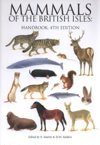 Mammals of the British Isles: Handbook: Stephen Harris