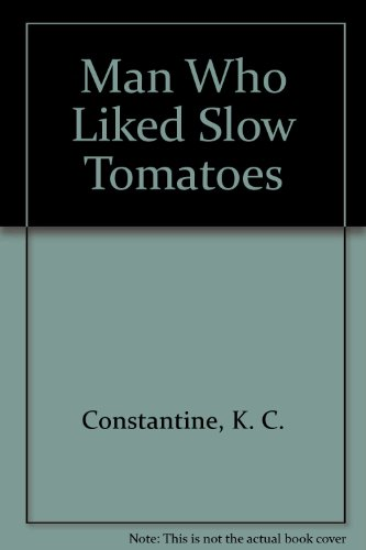 9780906293058: The Man Who Liked Slow Tomatoes (Balzic Mystery Series: No. 5)