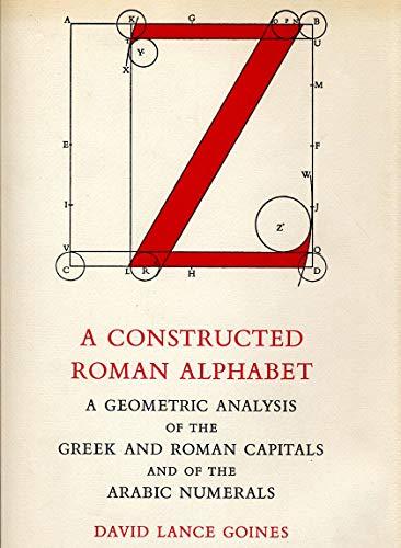 9780906293300: Constructed Roman Alphabet