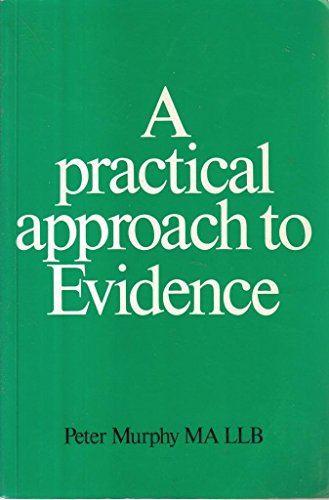 9780906322055: Practical Approach to Evidence