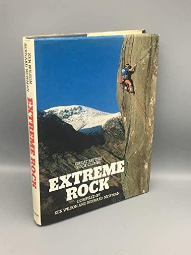 9780906371367: Extreme Rock: Great British Rock Climbs