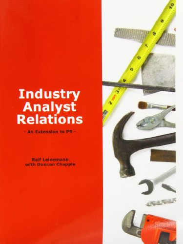 9780906378038: Industry Analyst Relations - An Extension to PR