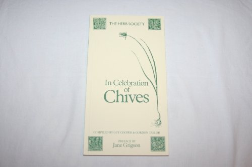 In Celebration of Chives.