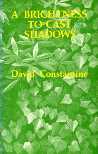 A Brightness to Cast Shadows: Constantine, David J.
