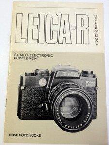 Leica-R reflex manual including R3 MOT: Lichem, Heinz von