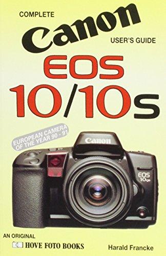 9780906447659: Canon Eos 10: In U.S.A. Canon Eos 10s (Hove User's Guide)
