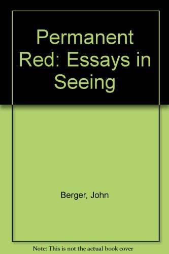 9780906495070: Permanent Red: Essays in Seeing