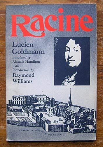 Racine Lucien Goldman: Alastair Hamilton
