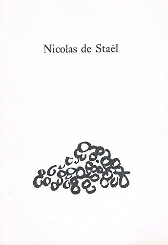 9780906499122: NICOLAS DE STAEL: DRAWINGS AND ENGRAVED WORK.