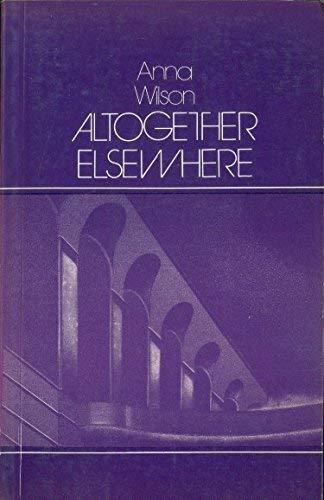 9780906500187: Altogether Elsewhere