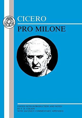 9780906515501: Cicero: Pro Milone