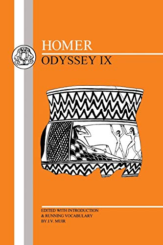 9780906515617: Homer: Odyssey XI: Bk.9 (BCP Greek Texts)