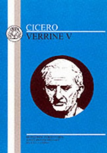 9780906515747: Cicero: Verrine V: Bk. 5 (BCP Latin Texts)