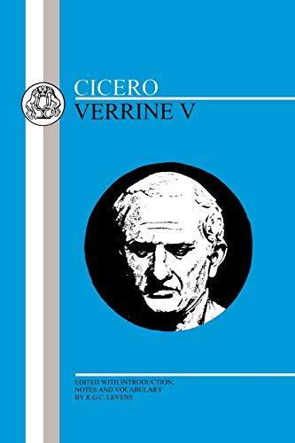 9780906515747: Cicero: Verrine V (Latin Texts) (Bk. 5)