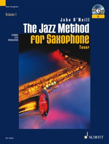 9780906525203: The Jazz Method for Tenor Saxophone