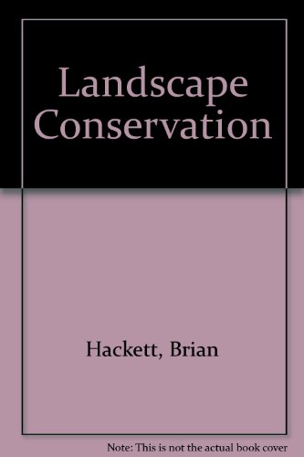 Landscape Conservation (0906527066) by Brian Hackett