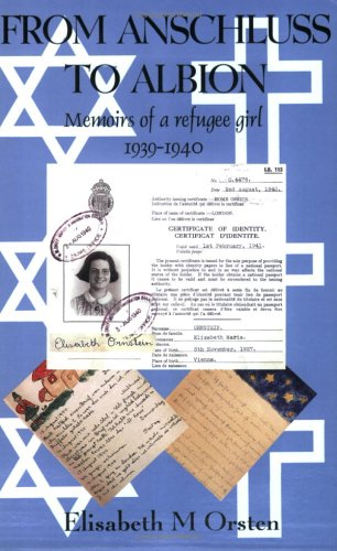 9780906554173: From Anschluss to Albion: Memoirs of a Refugee Girl 1938-40 (Memoirs of a Refugee Girl 1938-1940)