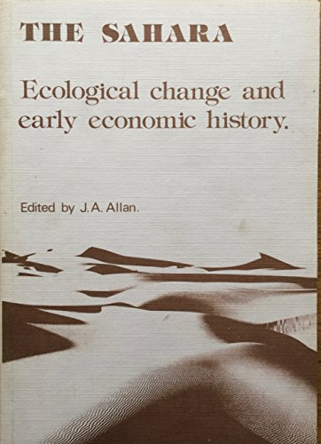 The Sahara: Ecological Change and Early History (Menas monographs)