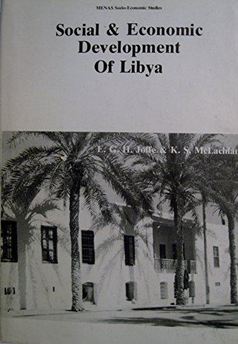 Social and Economic Development of Libya