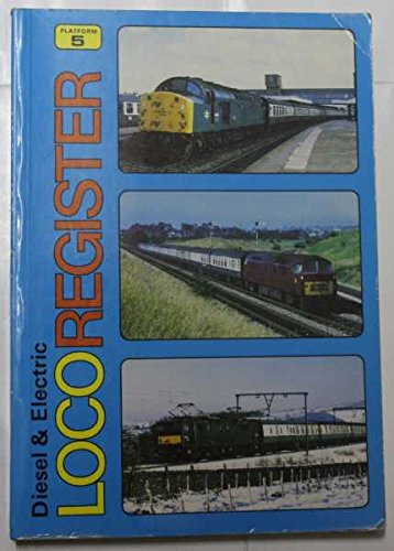 9780906579404: Diesel and Electric Loco Register