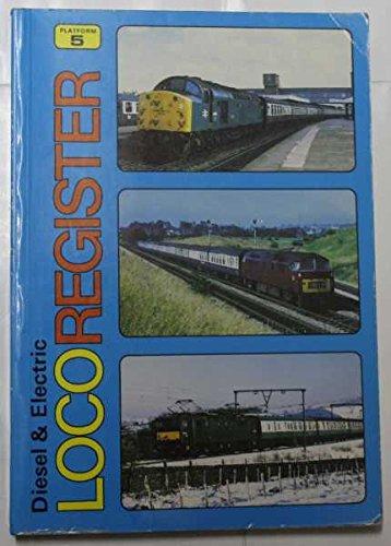 Diesel & Electric Locomotive Register: Sugden, Alan