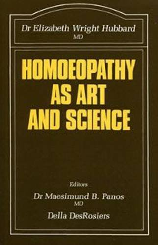 9780906584262: Homoeopathy as Art and Science (The Beaconsfield homoeopathic library)