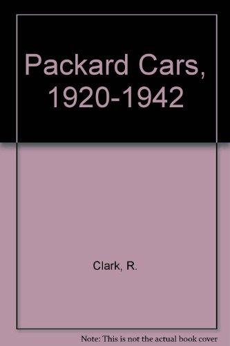 Packard Cars 1920-1942: Clarke, R. M.