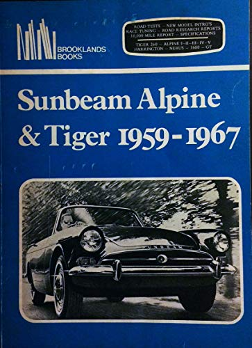 9780906589571: Sunbeam Alpine and Tiger Gold Portfolio 1959-1967