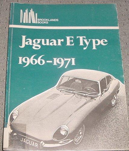 9780906589588: Jaguar E-type 1966-71 (Brooklands Road Tests)