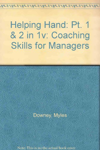 9780906607657: Helping Hand: Pt. 1 & 2 in 1v: Coaching Skills for Managers