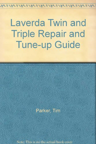 9780906613009: Laverda Twin and Triple Repair and Tune-up Guide
