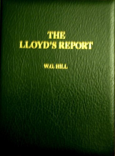 The Lloyds Report (0906619181) by W.G. Hill
