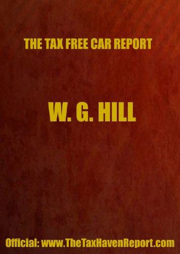 9780906619292: Tax-Free Car Report