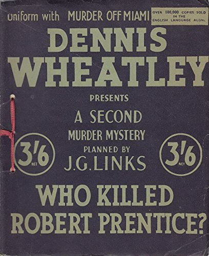 9780906671047: Who Killed Robert Prentice?