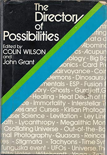 9780906671276: Directory of Possibilities