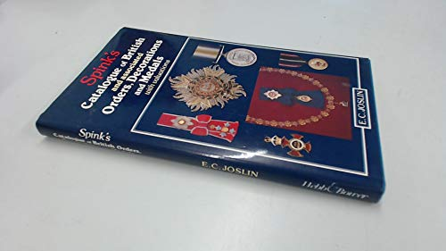 9780906671689: Spink's Catalogue of British and Associated Orders, Decorations and Medals