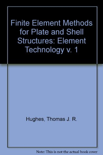 9780906674499: Finite Element Methods for Plate and Shell Structures, Vol. 1: Element Technology (v. 1)